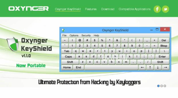 Oxynger Onscreen Keyboard